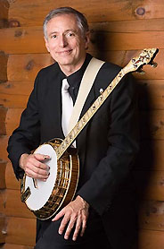 Richard Stillman plays a Kel Kroydon KK11 Banjo