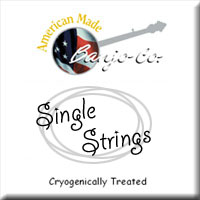 Bronze Wound Loop End String - Singles