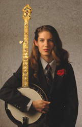 Casey Henry and her Signature Banjo