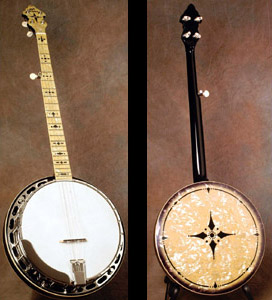 Kel Kroydon Original Style Banjo, models KK10 and KK46-10