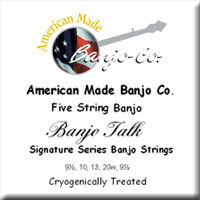 Banjo Talk Signature Strings<br>9.5-10-13-20w-9.5