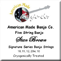 Stan Brown Signature Strings<br>10-11-12-20w-10