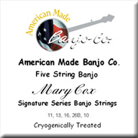 Mary Cox Signature Strings<br>11-13-16-26B-10