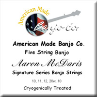 Aaron McDaris Signature Strings<br>10-11-12-20w-10